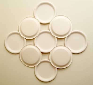 Wall hanging made from Nine paper plates & Wall Hangings